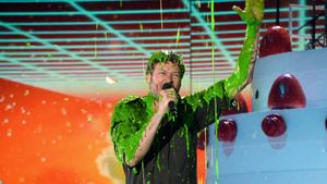 Kids' Choice Awards: Fiese Schleim-Dusche für Blake Shelton