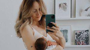 Stillen und Co.: So ist Carmushkas neuer Alltag mit Baby