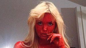 Bonnie Strange mit Halloween-Look