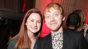 Bonnie Wright und Rupert Grint bei der Snatch TV Serie Premiere in Los Angeles