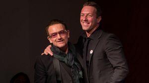 Chris Martin und Bono