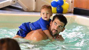 Boomer hat Geschwisterchen! Michael Phelps wieder Papa