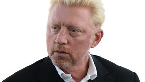 Boris Becker bei einem Event in London 2017