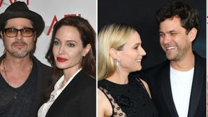Brad Pitt & Angelina Jolie, Diane Kruger & Joshua Jackson, Johnny Depp & Amber Heard