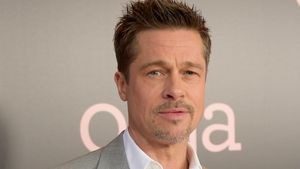 """Brad Pitt auf der Premiere von """"Okja"""" in New York City"""
