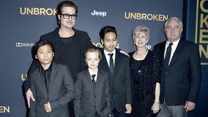 Traurige Aussichten: Feiert Brad Pitt Xmas ohne seine Kids?