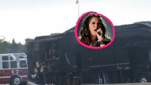 Tour-Bus in Flammen: Feuer-Schock bei Lady Antebellum