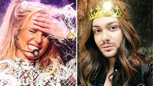 Britney Spears und Riccardo Simonetti