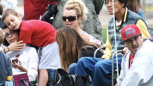 Britney Spears: Mit Ex-Mann & Kids beim Fußball