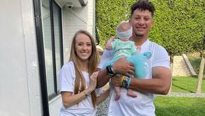 NFL-Star Patrick Mahomes zeigt erstmals Gesicht seines Babys