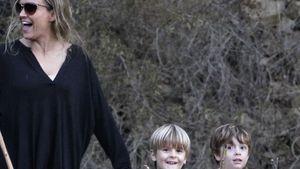 Heile Welt bei Brooke Mueller: Ausflug mit Kids
