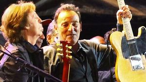 Paul McCartney und Bruce Springsteen