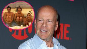 Bruce Willis: Seine 3 Töchter ziehen gleichzeitig blank!