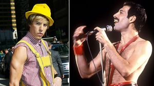 Aus Brüno wird Queen-Sänger Freddie Mercury!