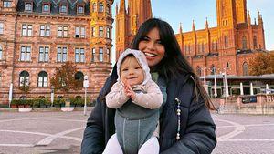 Süße Bilder: So groß ist Ex-GNTM-Girl Brunas Baby schon