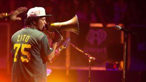 Bruno Mars bei einer Show in LA