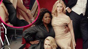 Photoshop-Panne? Reese Witherspoon hat plötzlich 3 Beine!