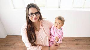 Mit süßem Body: Calantha Wollny wählt Cathaleyas Paten aus