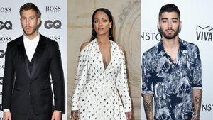 Calvin Harris, Rihanna und Zayn Malik