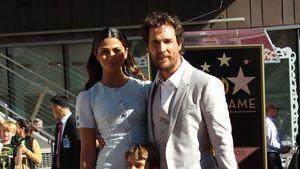 Matthew McConaughey, Vida Alves McConaughey, Levi Alves McConaughey, Livingston Alves McConaughey un