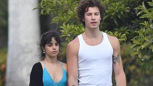 Im Hippie-Look: Camila und Shawn Mendes entspannt unterwegs