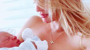 Nach Strand-Pics: VS-Model Candice verteidigt Rest-Babybauch