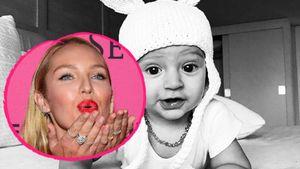 Candice Swanepoel: Ihr Sohn ist ein süßes Osterhäschen!