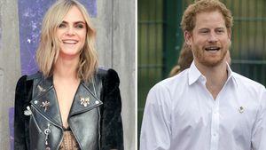 Cara Delevingne und Prinz Harry