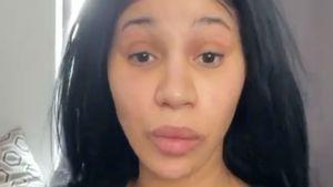 No-Make-up-Video: Cardi B fühlt sich ungeschminkt mega-wohl!
