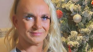 Caro Robens gönnt sich für die Hochzeit blonde Wallemähne