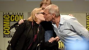 Carrie Fisher, Mark Hamill und Harrison Ford bei der Comic-Con International