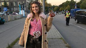Nach Wiesn-Look-Kritik: Das sagt Cathy Hummels zum Leo-Schuh