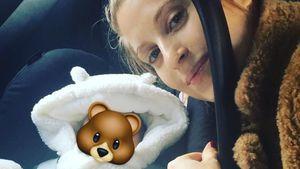 Endlich: Cathy & Mats Hummels dürfen mit Baby nach Hause!