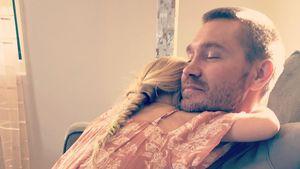 Süßes Kuschelbild von Chad Michael Murray und seiner Tochter