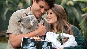 Mit Ultraschallbildern: Bindi Irwin freut sich auf ihr Baby
