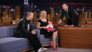 Coco, Jimmy Fallon, Chanel Nicole und Ice-T