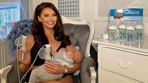 Intim: Hier stillt Reality-Star Charlotte Dawson Baby Noah!