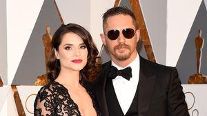 Charlotte Riley und Tom Hardy im Februar 2016 bei der Oscarverleihung in Los Angeles