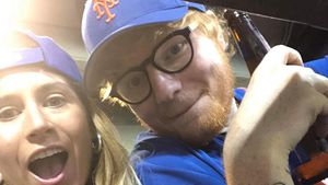 Seltener Anblick: Ed Sheeran postet Paar-Pic mit Cherry!