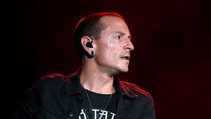 Chester Bennington auf einem Konzert in Las Vegas
