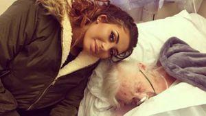 Chloe Ferry und ihre totkranke Großmutter im Krankenhaus