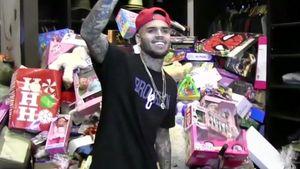 Gutmensch Chris Brown: So groß ist der Gaben-Berg