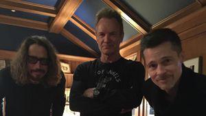 Chris Cornell, Sting und Brad Pitt