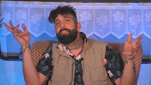 "Chris nur wegen Bullshit TV-Wette bei ""Promi Big Brother""!"