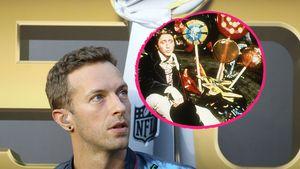 """Chris Martin mit einer """"Willy Wonka""""-Szene"""