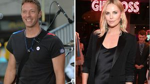 Chris Martin und Charlize Theron