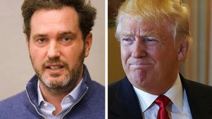 Chris O'Neill und Donald Trump