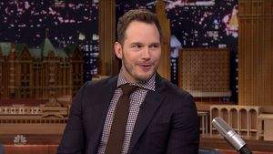 "Chris Pratt bei ""The Tonight Show Starring Jimmy Fallon"" im Dezember 2016"