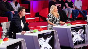 """Das Supertalent""-Debüt: So kommen Chris Tall und Evelyn an"