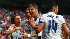 Real Madrid nach Sieg gegen Atlético